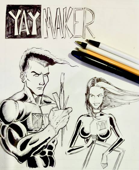 A How to Draw Super Hero Comics experience project by Yaymaker