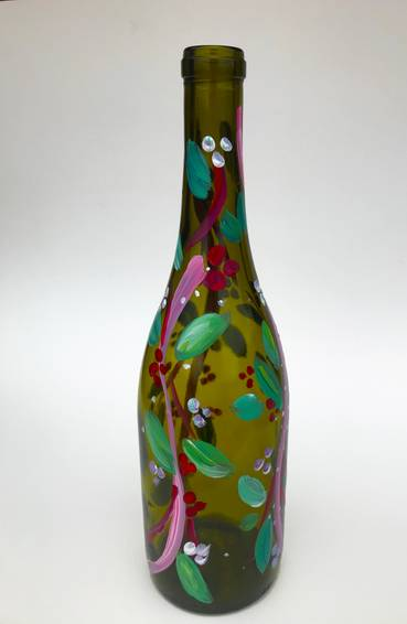A Spring is in the Air Wine Bottle experience project by Yaymaker