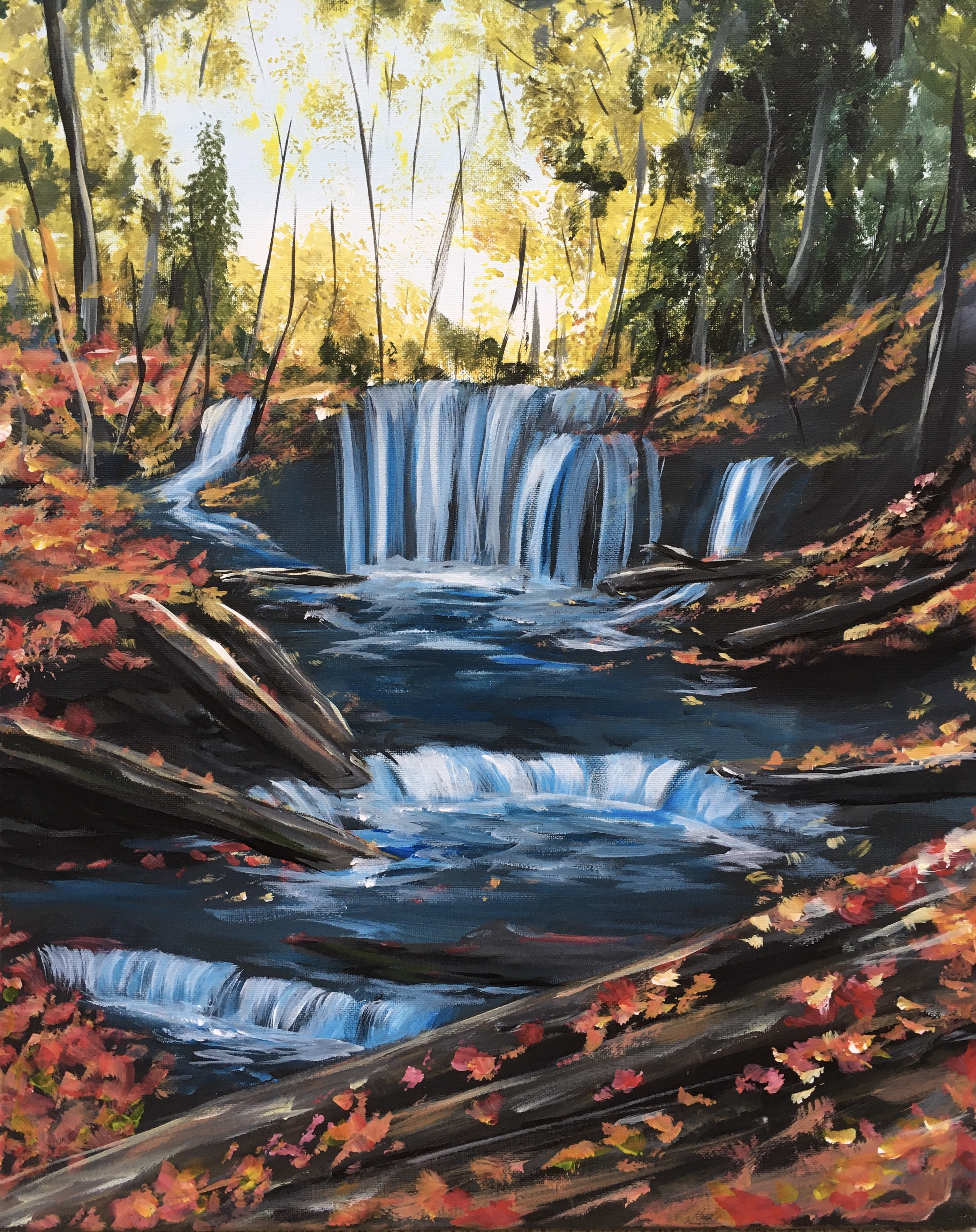 A Fall Waterfalls experience project by Yaymaker