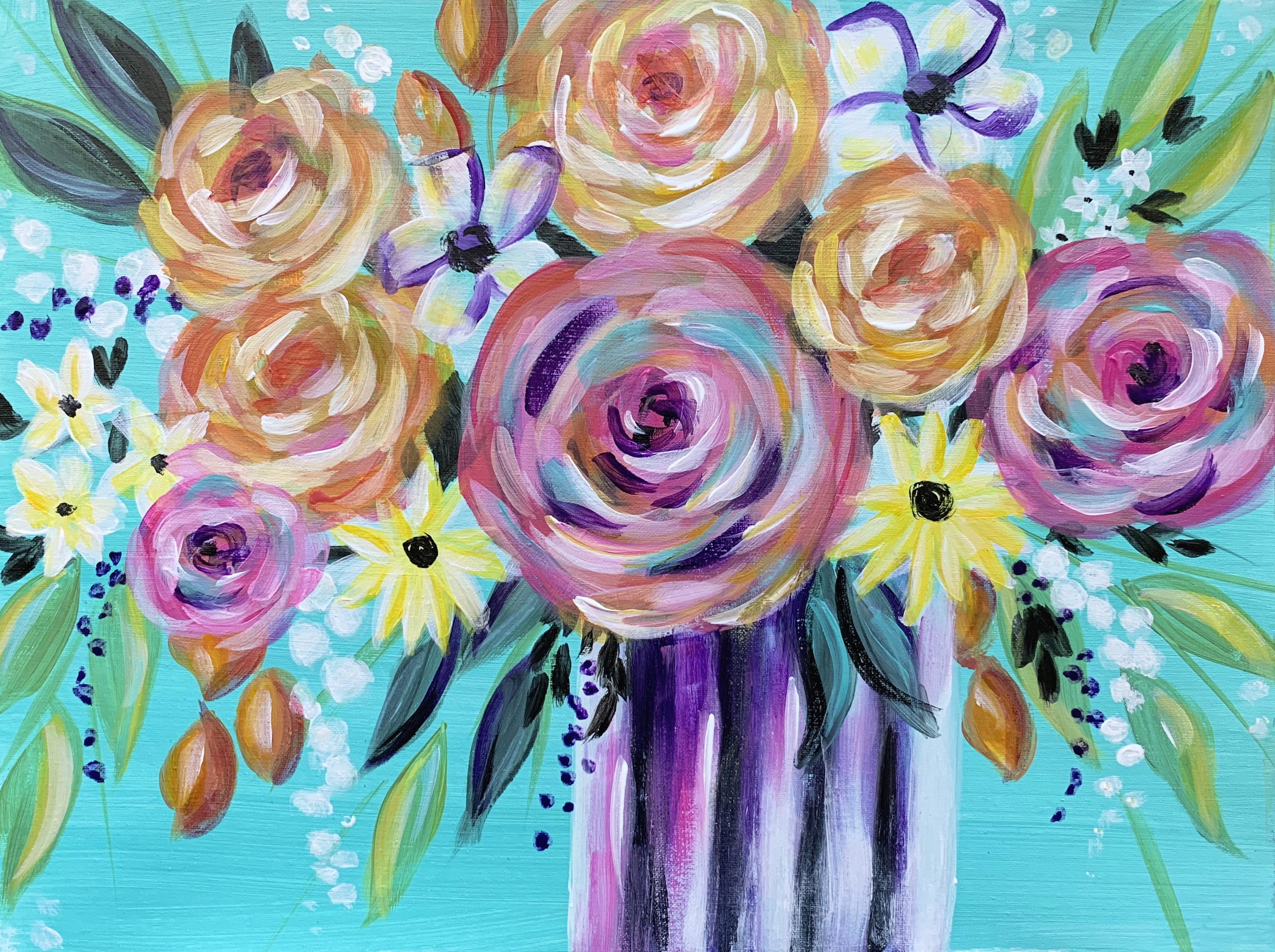 A Vibrant Spring Bouquet experience project by Yaymaker