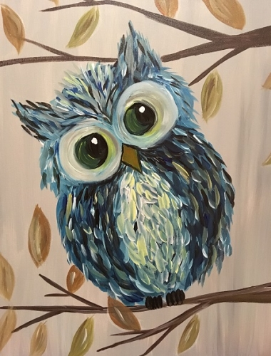 A Who Who Me paint nite project by Yaymaker