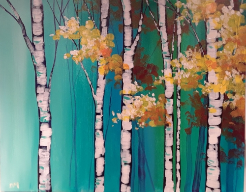 A Bright Birch paint nite project by Yaymaker