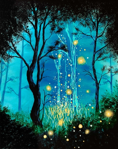 A There Is Magic paint nite project by Yaymaker