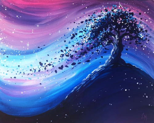 A Magic under the Stars paint nite project by Yaymaker