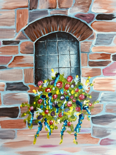 A Tuscany paint nite project by Yaymaker
