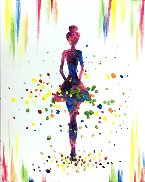 A Goddess of Color paint nite project by Yaymaker