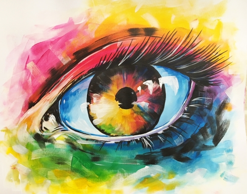 A Epic Eye paint nite project by Yaymaker