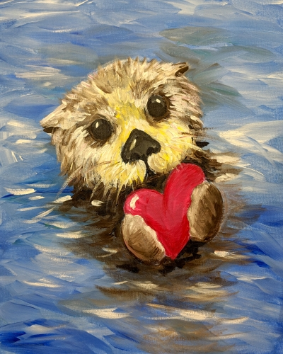 A No Otter Love Like Yours paint nite project by Yaymaker