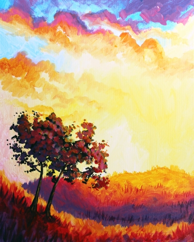 A Falling Up IV paint nite project by Yaymaker