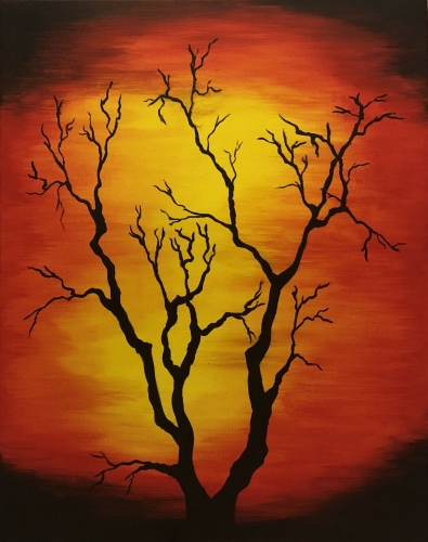 A Autumn Tree III paint nite project by Yaymaker