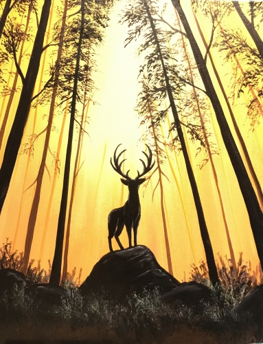 A Forest Guardian II paint nite project by Yaymaker