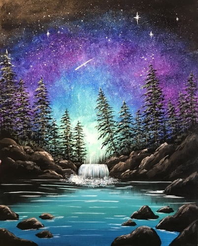 A Worlds Without End paint nite project by Yaymaker
