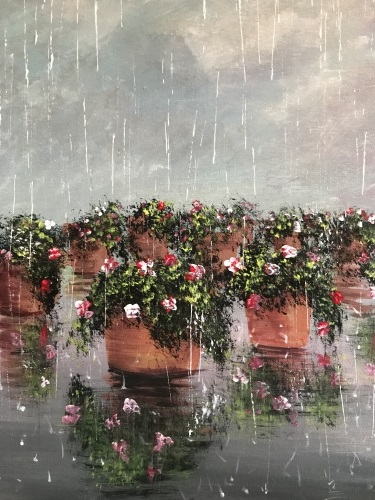 A April Showers III paint nite project by Yaymaker