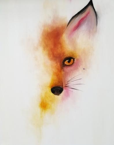 A Smokey Fox paint nite project by Yaymaker