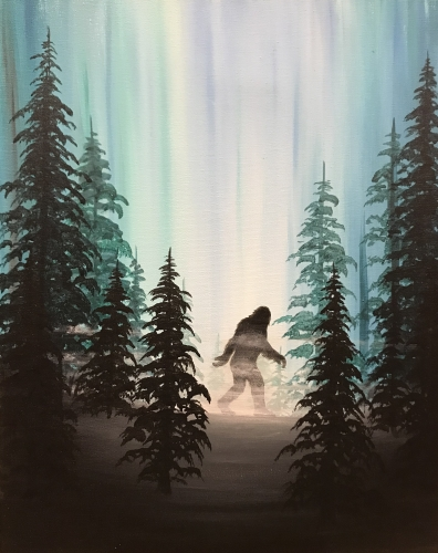 A Reigning Hide and Seek World Champion paint nite project by Yaymaker