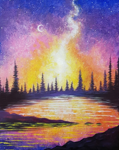 A Galaxy Bay paint nite project by Yaymaker