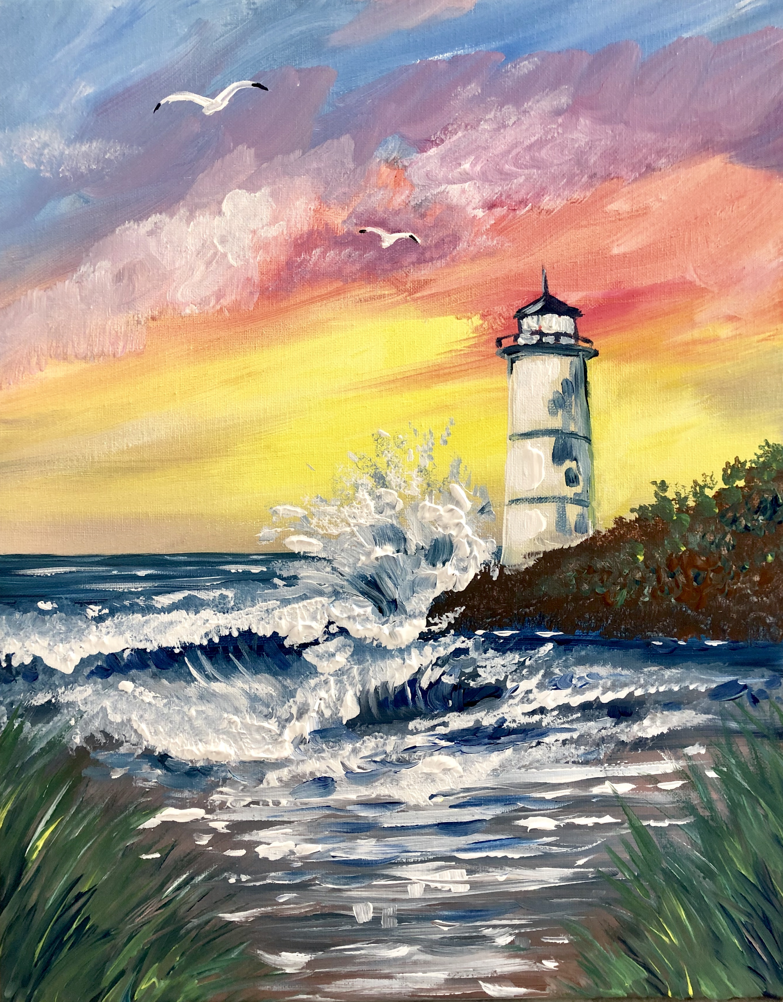 A Point Bliss paint nite project by Yaymaker
