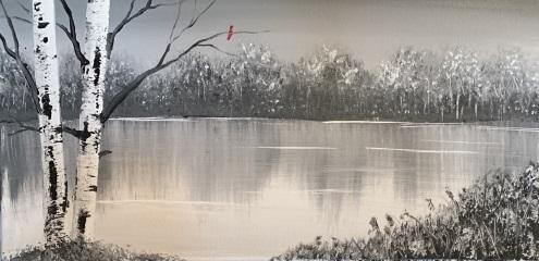 A Frozen Bog paint nite project by Yaymaker
