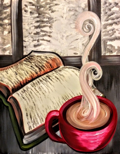 A Cozy Cocoa paint nite project by Yaymaker