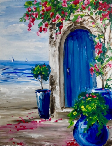 A Ocean Villa II paint nite project by Yaymaker