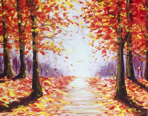 A Falling Fast paint nite project by Yaymaker
