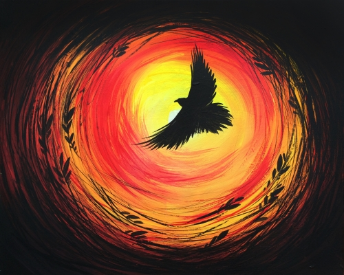 A Raven Flight paint nite project by Yaymaker