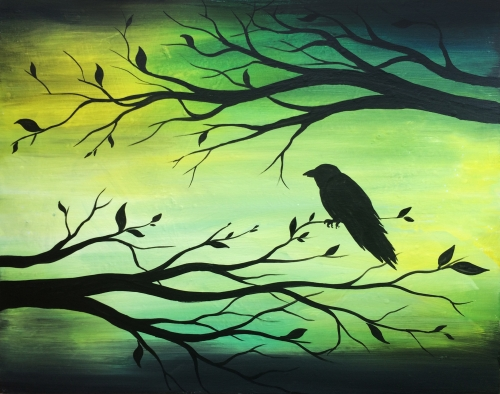 A My Friend Raven paint nite project by Yaymaker