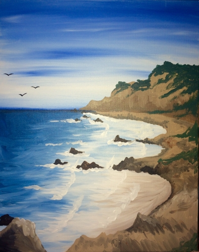 A NorCal Coast paint nite project by Yaymaker