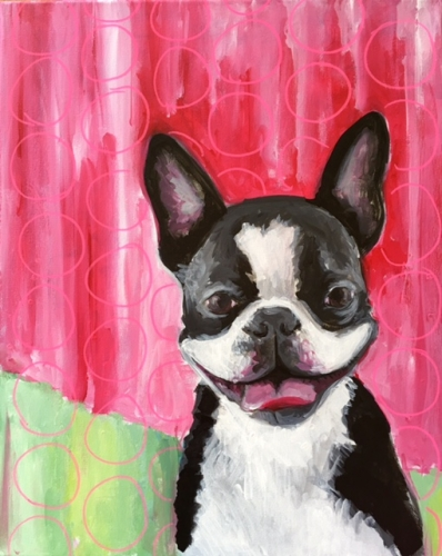 A Paint Your Pet II paint nite project by Yaymaker