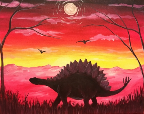 A Dino Island II paint nite project by Yaymaker