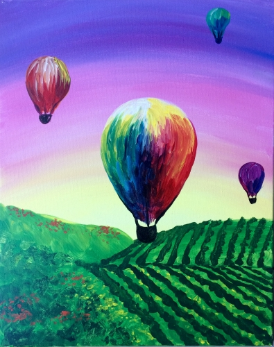 A Early Risers paint nite project by Yaymaker