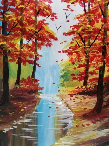 A Sweet November paint nite project by Yaymaker