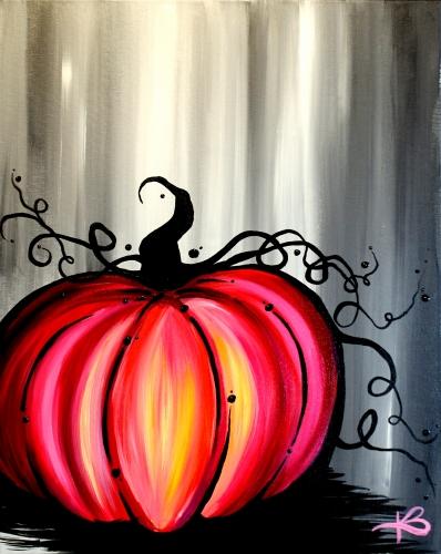 A Scarlet Pumpkin paint nite project by Yaymaker