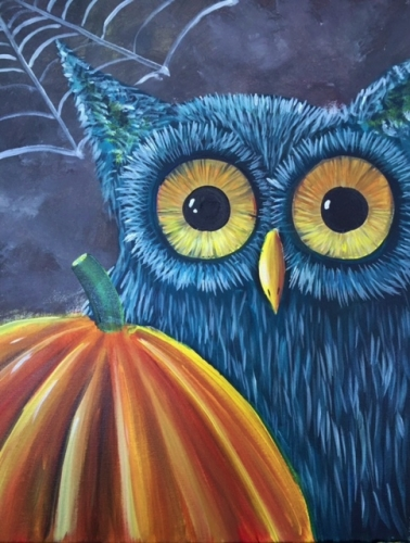 A Whos Pumpkin paint nite project by Yaymaker