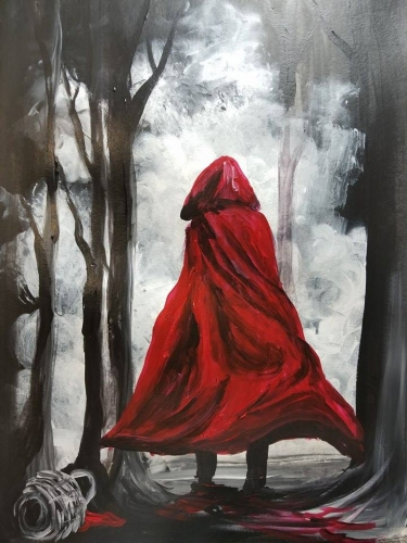 A Run Red Hood paint nite project by Yaymaker
