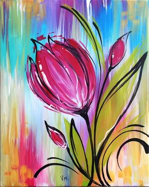 A Whimsical Tulip With JOANN experience project by Yaymaker
