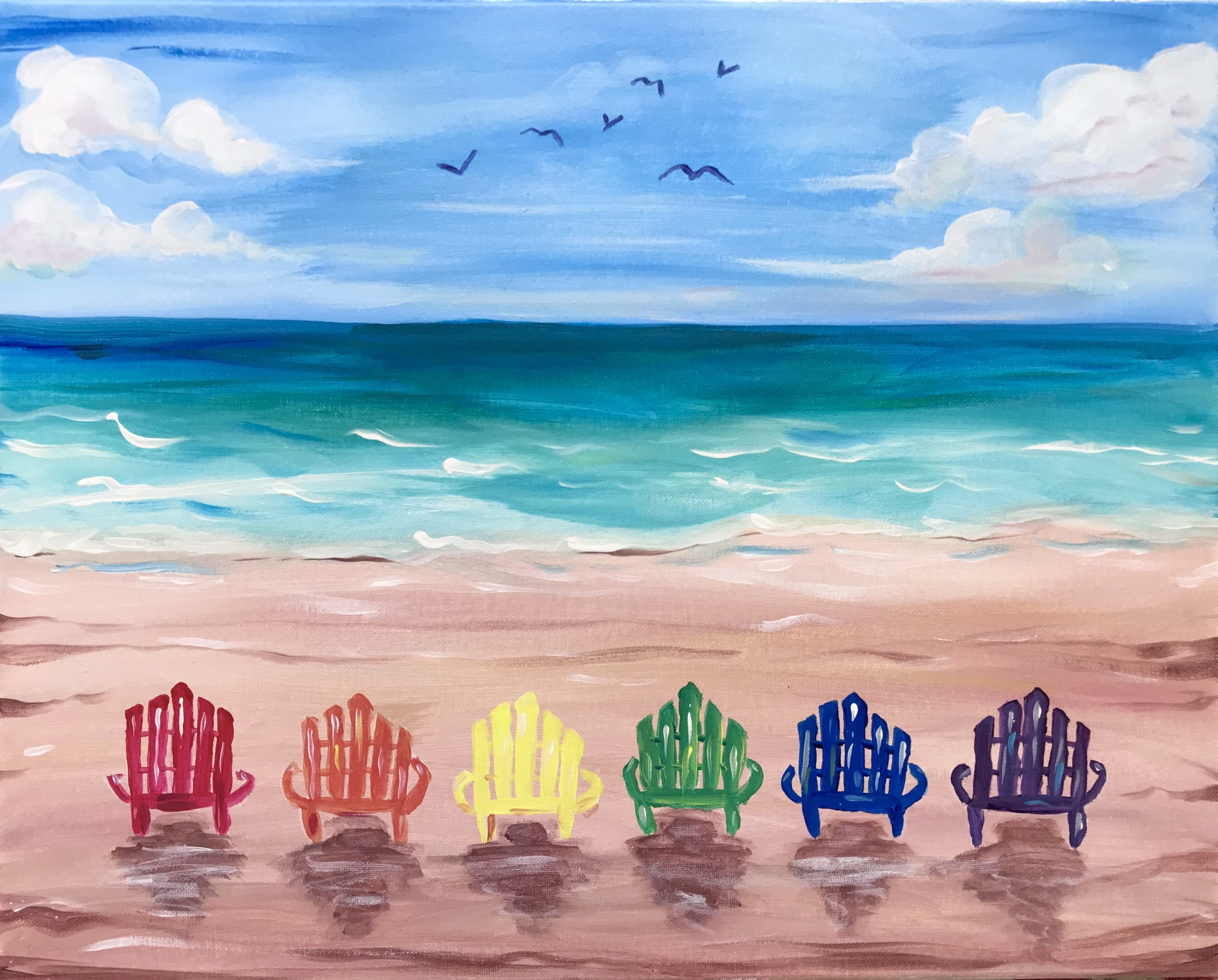 A Rainbow Beach Chairs experience project by Yaymaker