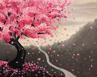 Japanese Cherry Blossom At Rose Crown Pub Delta Bc Ca Yaymaker