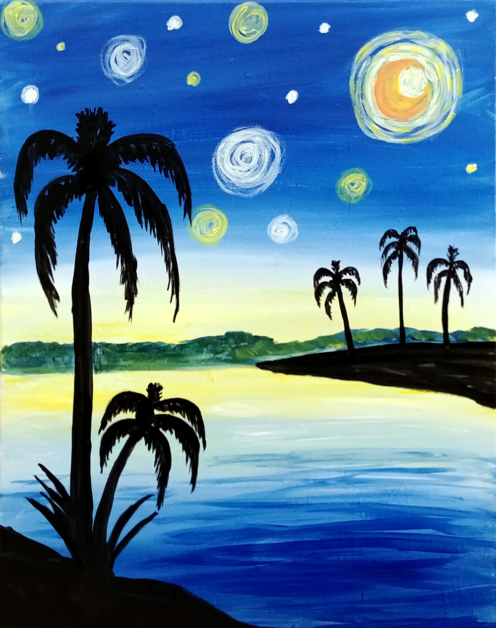 A Tropical Starry Nite experience project by Yaymaker