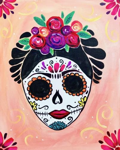 A Frida Calavera Sugar Skull experience project by Yaymaker