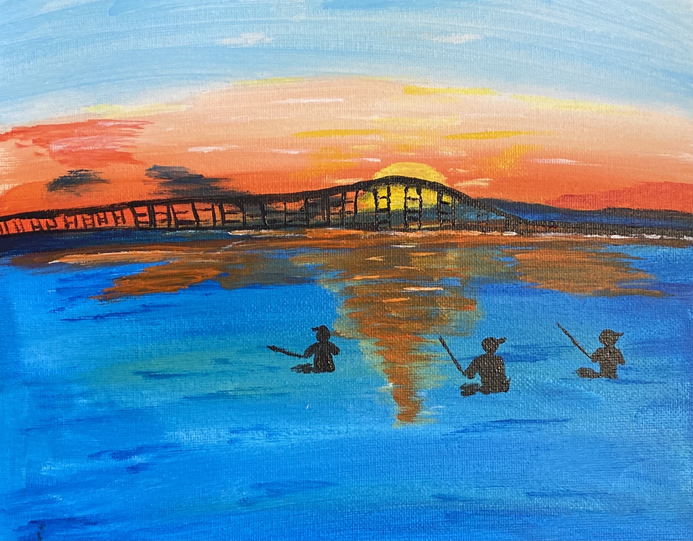A Sunset Fishing at Oregon Inlet experience project by Yaymaker