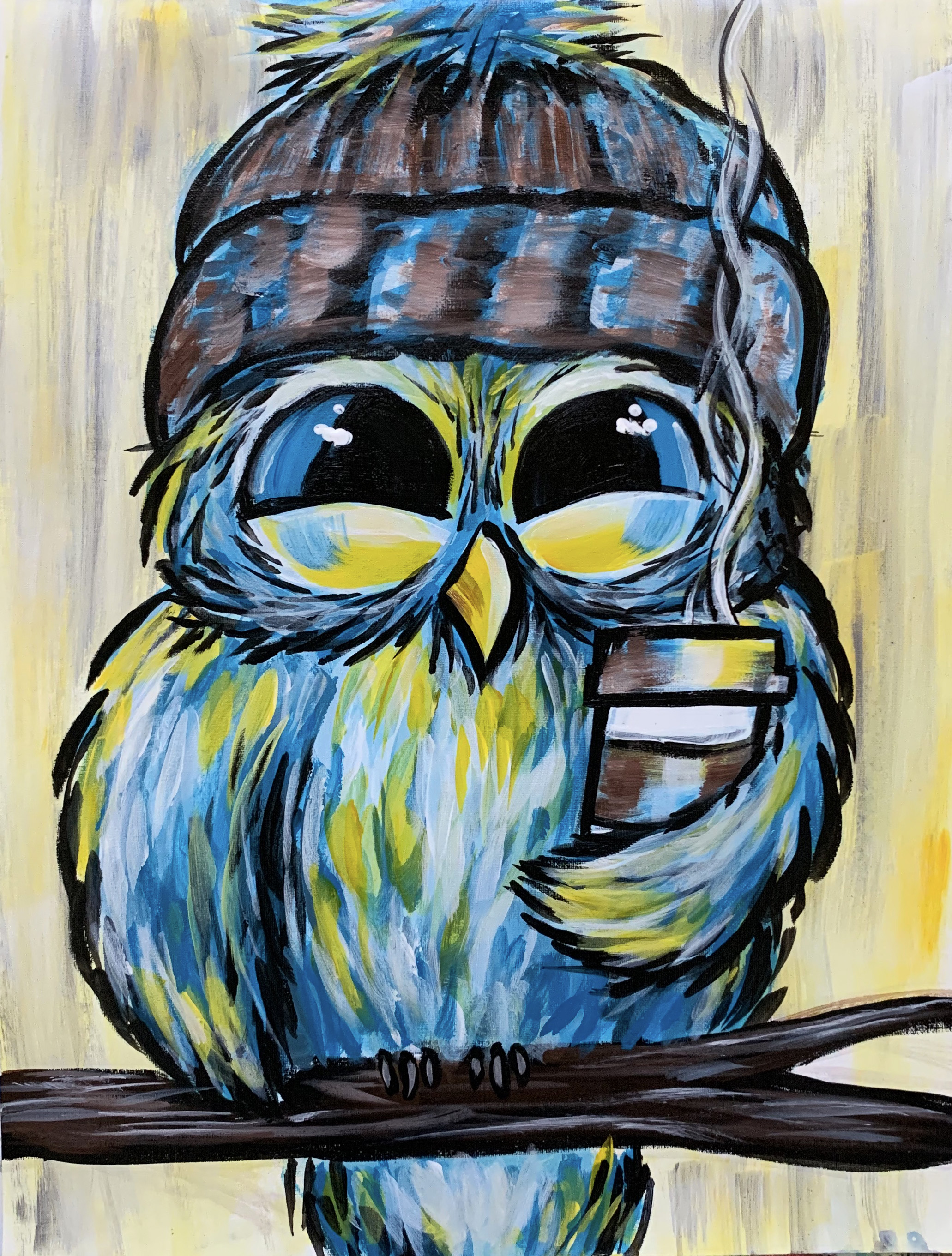 A Coffee Owl Day experience project by Yaymaker
