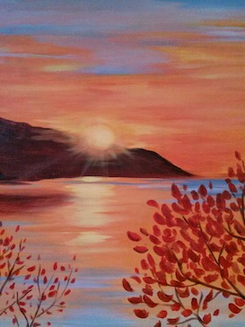A Last Light paint nite project by Yaymaker