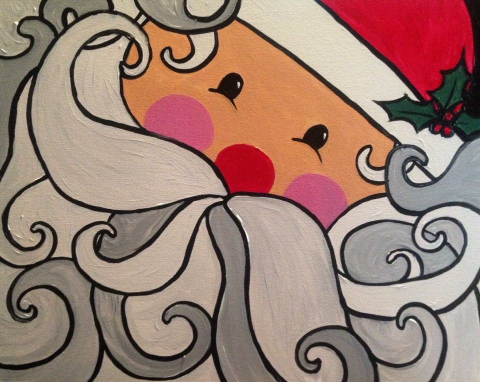 A Santa paint nite project by Yaymaker