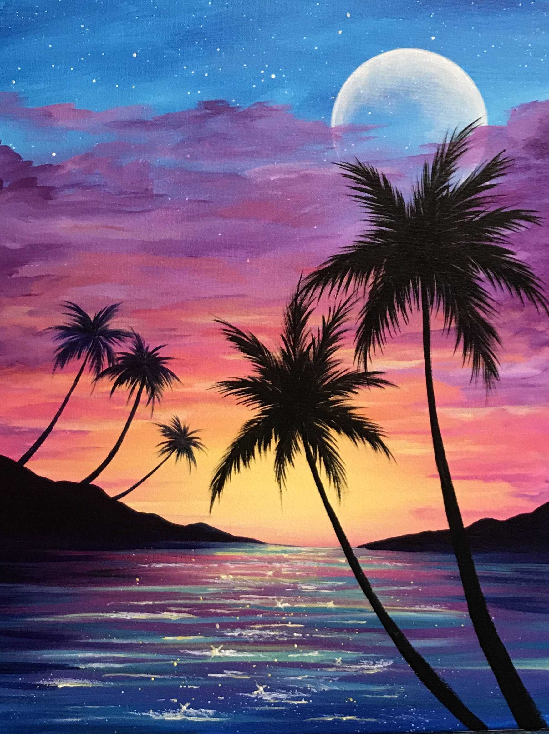 A Sunset Palm Paradise experience project by Yaymaker