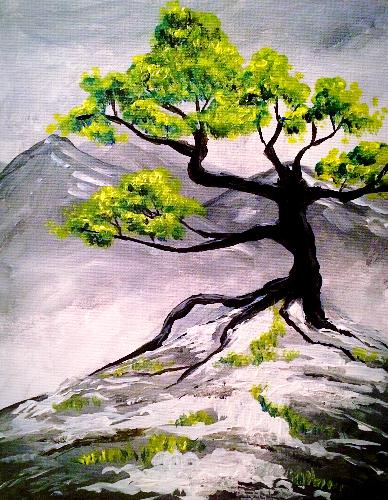 A Looking to Spring paint nite project by Yaymaker