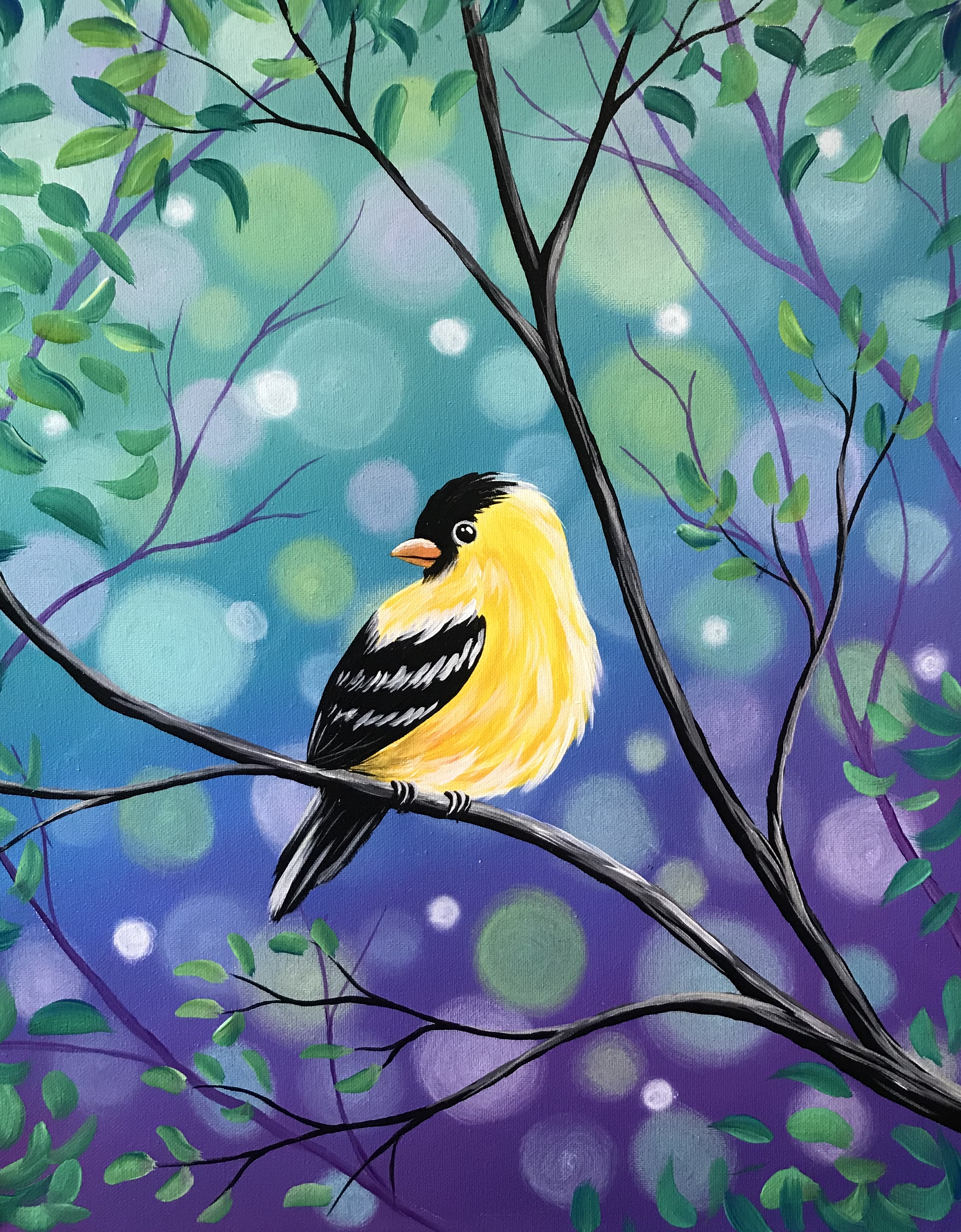 A Spring Goldfinch experience project by Yaymaker