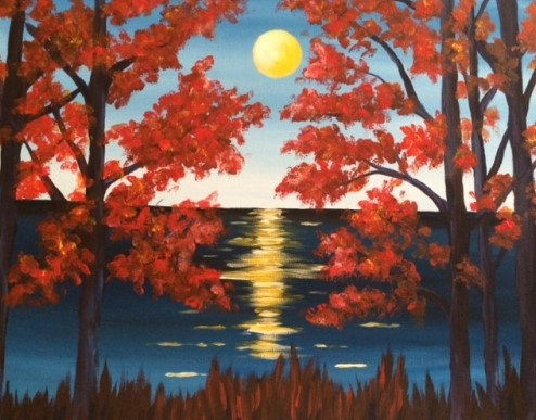 A Between the Maples paint nite project by Yaymaker
