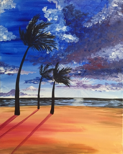 A Beach Breeze II paint nite project by Yaymaker