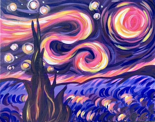 A A Warm Starry Nite experience project by Yaymaker